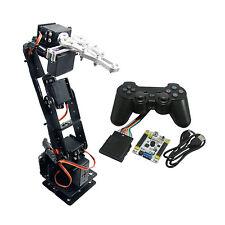 6DOF Aluminium Clamp Claw Mount kit Mechanical Robotic Arm & Servo & Controller