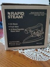Brand New - Rapid Steam Prs-500 Dry Cleaning Iron w/ 2 Hoses (Irn-1400)