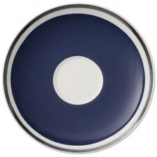 Villeroy & and Boch ANMUT Ocean Blue saucer for espresso cup 12cm NEW NWL