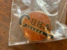 1990s Cuba Basketball Pin