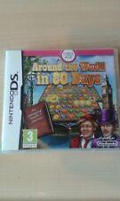 Autour du monde en 80 jours Super Nintendo DS Jeu Complet Avec Instructions