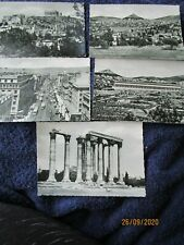 5 POSTCARDS  ASSORTED VIEWS OF ATHENS, GREECE POSTALLY UNUSED