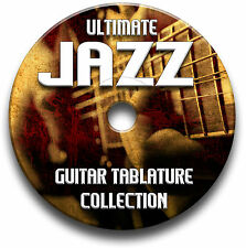 140 x JAZZ CHITARRA INTAVOLATURE COLLEZIONE CANTO BOOK SOFTWARE LIBRARY CD