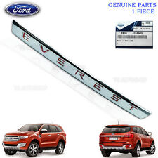 Chrome Line Strip Tailgate Trim Genuine Fit Ford Everest Suv 2WD 4WD 2016
