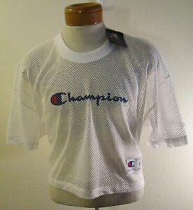 NWT Champion Mens Shimmel Mesh Football Jersey M White MSRP$35