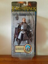 "Lord Of The Rings Gondorian Swordsman 6"" Action Figure Complete Toybiz"