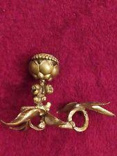 Bougeoir à pouce en bronze Doré XVIIIème Ancien