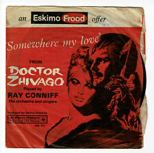 DOCTEUR JIVAGO -CAMELOT B.O. Film Vinyl 45T Ray CONNIFF The SINGERS Percy FAITH