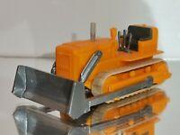 Wiking ( 655a / 1  ) Planierraupe , orangegelb, T@P