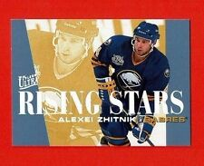 1995-96 Ultra RISING STARS insert # 10 Alexei Zhitnik BUFFALO SABRES