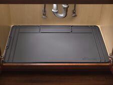 WeatherTech SinkMat Spill-proof Under Sink Mat Holds 1 Gallon USA USM01BK