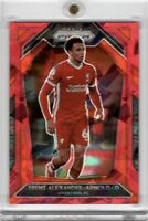 2020-21 Panini Prizm Premier League Trent Alexander-Arnold Red Cracked Ice #242