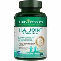 Purity Products HA H.A. Joint Formula 90 Capsules NSF Certified Brand New