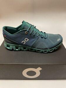 ON Cloud X Running Shoes Storm Tide Men's Size 11 US