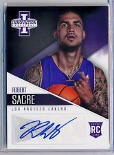 ROBERT SACRE - 2012-13 Innovation Rookie Card AUTO - Lakers RC