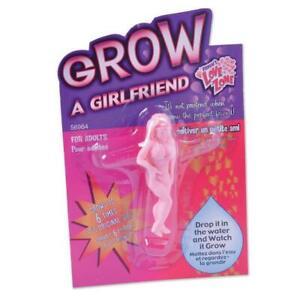 GROW YOUR OWN GIRLFRIEND WIFE FUNNY JOKE PRANK MENS FRIENDS GAG PRESENT A