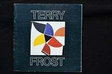 TERRY FROST RECENT PAINTINGS EXHIBITION CATALOGUE 1982 CORNWALL ST IVES