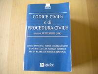 Codice civile e di procedura civile Drago Alpha Test 2013 diritto privato 204