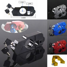 CNC Motorcycle ATV Brake Clutch Levers Lock Handle Grip Security Lock Anti-theft