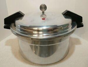 Vintage Mirro Pressure Cooker Canner 12 Quart M-0512-11 Aluminum Made in USA