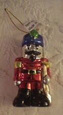 """T J Collection Soldier Drummer Painted Ornament Christmas Decoration 3"""" Nwot"""