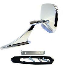 1969 1970 1971 1972 Pontiac GTO Front Outside Door Mirror Chrome - 1582