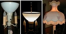 """LOOK!! 10"""" FLOOR LAMP LAMPSHADE ADAPTER for old antique reflector diffuser shade"""