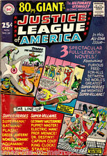 JUSTICE LEAGUE of AMERICA #39 (DC) KEY 1st 80 page GIANT issue. See MOVIE! 1965!