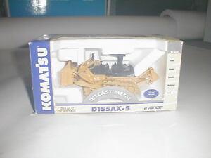 Komatsu D155AX Dozer ROPS Metal Tracks NEW JOAL 202 NEW Diecast Metal