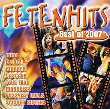 Fetenhits-Best of 2007 - 2 CD neuf rihanna Nena fantastiques quatre Hot Banditoz