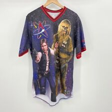 Albuquerque Isotopes 3 Star Wars Men Jersey Shawn O'Malley Han Solo Chewy 46 XL