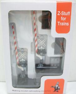 Z-Stuff DZ-1010 O Scale Crossing Signal & Detector Set w/Sound