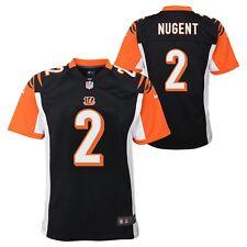 Nike Mike Nugent Cincinnati Bengals Youth Game Jersey - Black