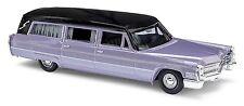 Busch H0, 42922 Cadillac 66 Station Wagon Bestattungswagen, lil, Automodell 1:87