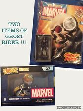 Marvel Classic Figurine Collection #22 Ghost Rider Eaglemoss Figure & DORBZ BOX