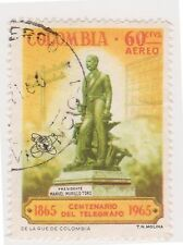 (COA-248) 1965 Colombia 60c air telegraph (Z)