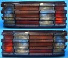 Negros FAROS TRASEROS NEGROS mercedes w126 sec Coupe Smoke taillights nuevo