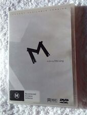 M - A FILM BY FRITZ LANG (LONGEST AVAILABLE VERSION) (DVD) REGION -4, LIKE NEW