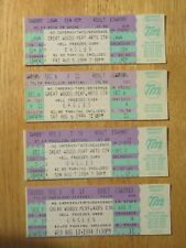 Unused Eagles August 5-6-7-10 1994 Great Woods Perf Concert Tickets Hell Freezes