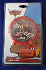 Disney Pixar Cars Alarm Wecker Kinderwecker Lernwecker Analog Uhr NEU OVP