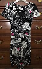 Alice Temperley Target Black White Pink Print Dress 7