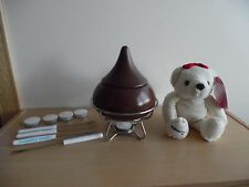 HERSHEY'S KISSES DESSERT FONDUE KIT~BONUS HERSHEY VALENTINES STUFFED PLUSH BEAR!