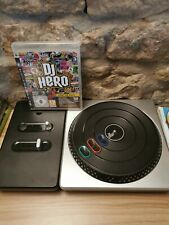 DJ Hero And Turntable For Sony PlayStation 3 PS3 - No Receiver/Dongle