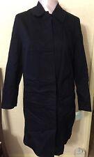 BNWT Navy Anne Brooks Petite Debenhams 100% cotton  Coat Navy Size 12