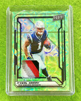 N'KEAL HARRY ROOKIE JERSEY CARD PRIZM #/25 PATCH PATRIOTS RC - 2019 National VIP