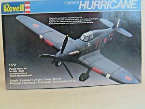 Revell 4118. Hawker Hurricane. 1:72 scale