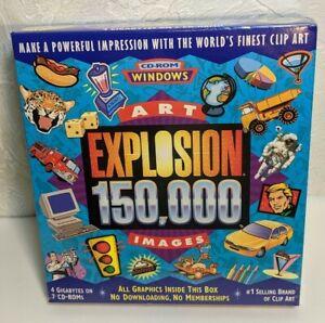 NOVA Art Explosion 150,000 Images 7CD-ROMs Windows Ultimate in Quality Clip Art
