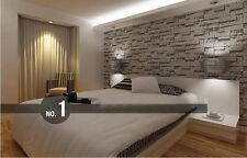 Promotion-3D Brick PVC Wallpaper Roll