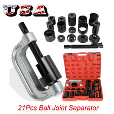 USA 21Pcs Ball Joint Separator C Press Truck Car Repair Tool Service Kit Remover