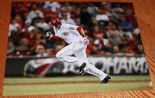 Billy Hamilton Cincinnati Reds unsigned color 8X10 photo